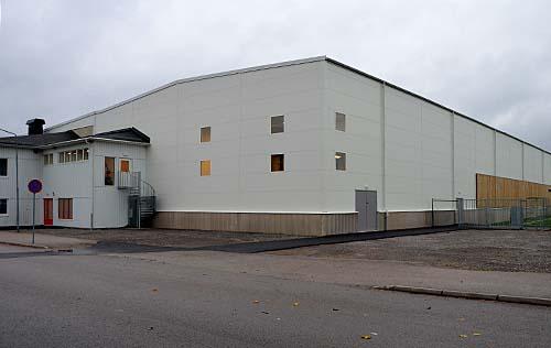 Bertil Johansson Bygg Rådahallen Mellerud